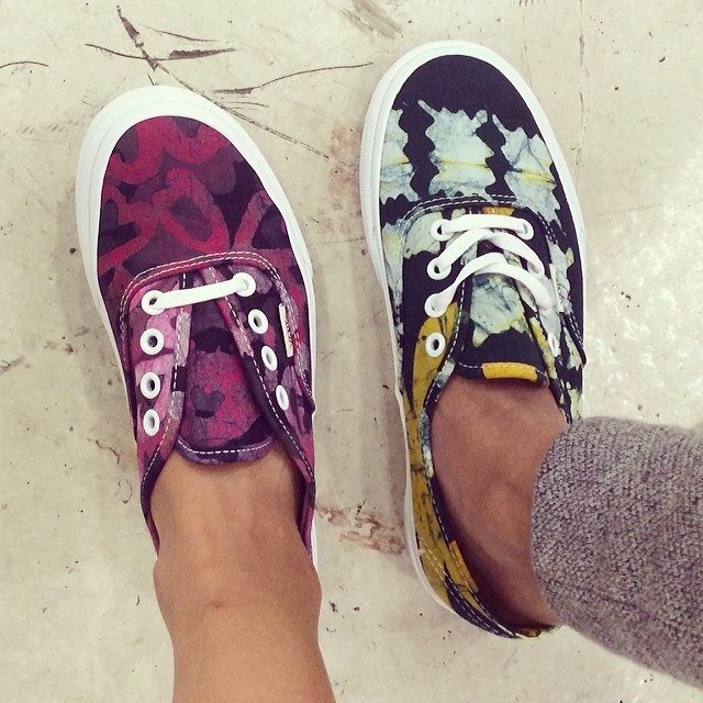 #Vans X @dellalosangeles Shoes #DellaLA #faarrow which colour do you like better?