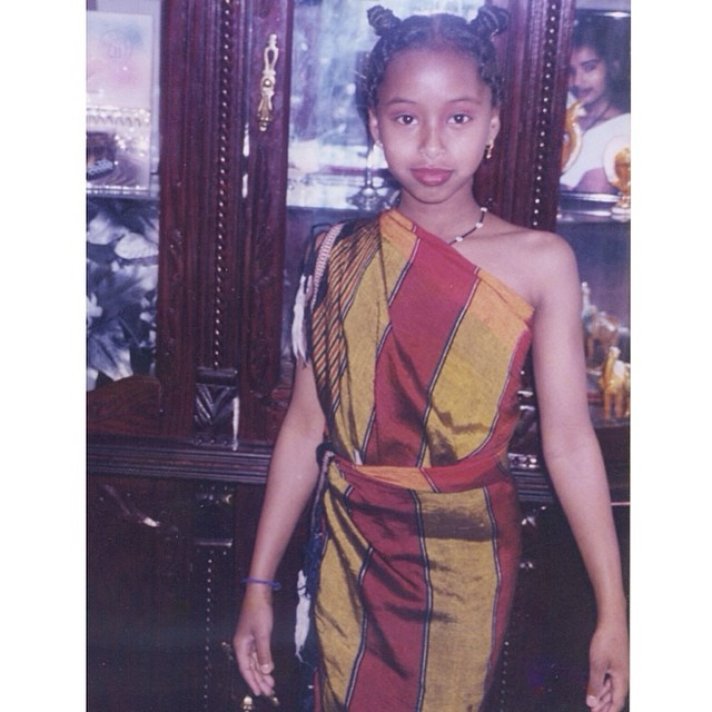 #TBT VOGUE AFRICA 😂 LOL lil #siham #faarrow