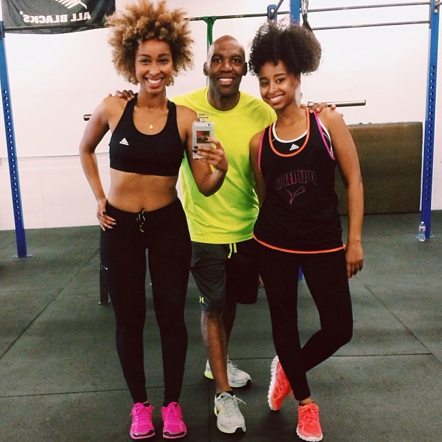 Our new Trainer ROLO!! About to get us Right!!! 💪👊💃 @Rolofitnessinc #faarrow