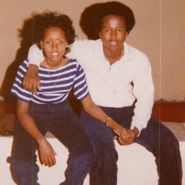 Happy Mother's Day from us and our dad!! We love you soo much and can't wait to give you the world!! This is our parents as teenagers .. How hot are they?? Lol 🔥❤️❤️ #happymothersday #weloveyoumom #faarrow