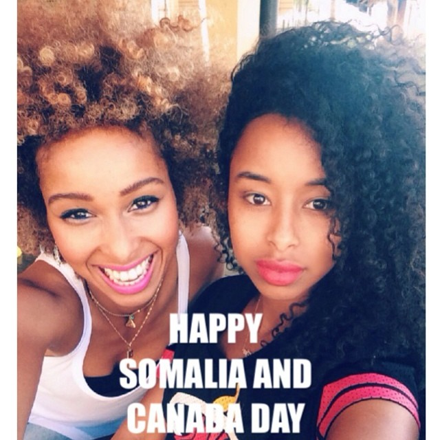 Happy Independence Day to Somalia & Canada!!! We born in Somalia and raised in Canada. We are proud to be Somali-Canadians #july1st #somaliaday #canadaday #independenceday #faarrow #Turnup