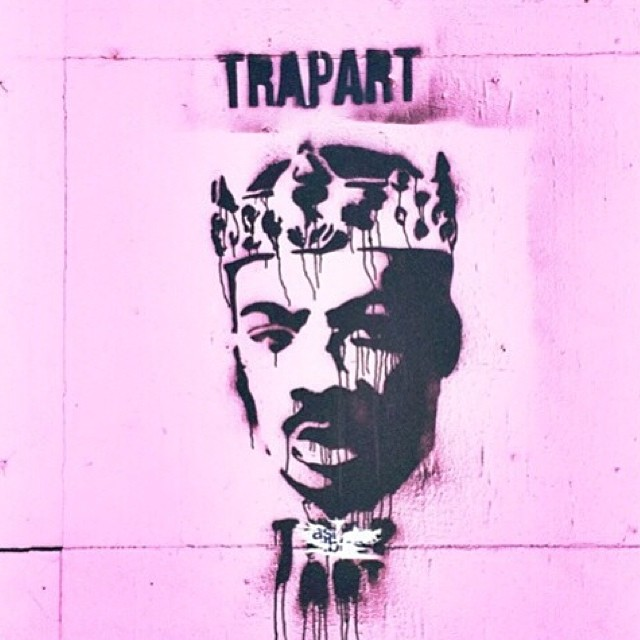 💲TRAP ART💲 #comingtoamerica #Zamunda #streetart #faarrow