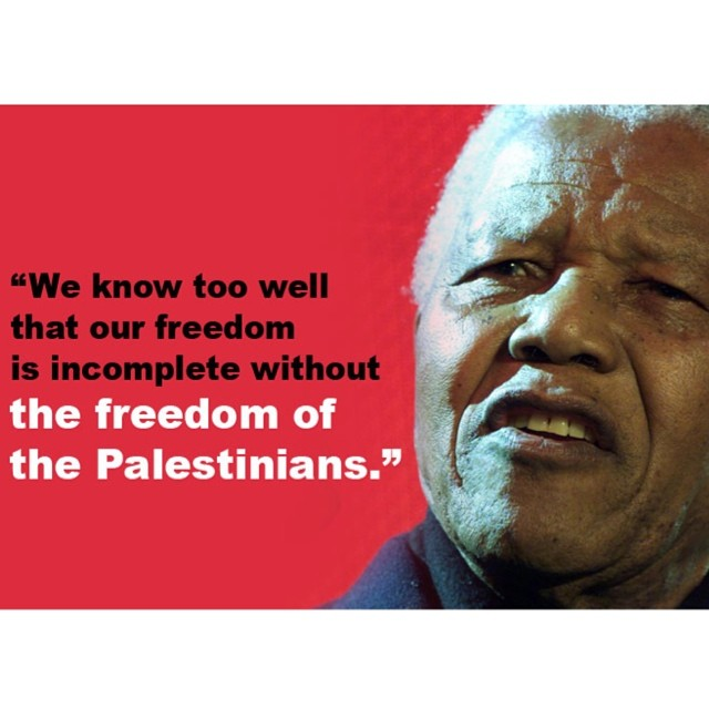 Thank you #Madiba #freepalestine  Today is #mandeladay #Legendsneverdie
