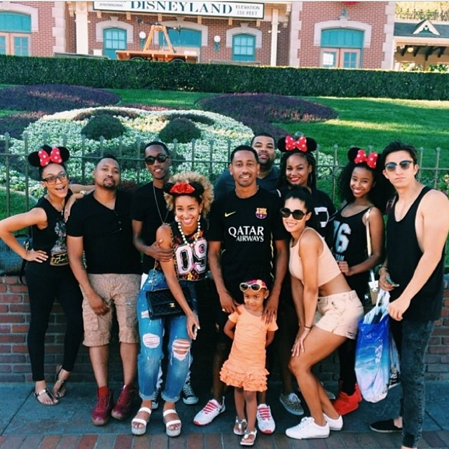🎈I had the most amazing time at #Disneyland on my B-day!!! Thank you so much to Siham and @lemuelplummer for making this surprise party happen!! Love you both so much!! & Thanks sooo much to the rest of the gang for coming out & sharing this day with me!! Love y'all ❤️🎈 #july22 #bestbdayever (at Disney Land Theme Park)