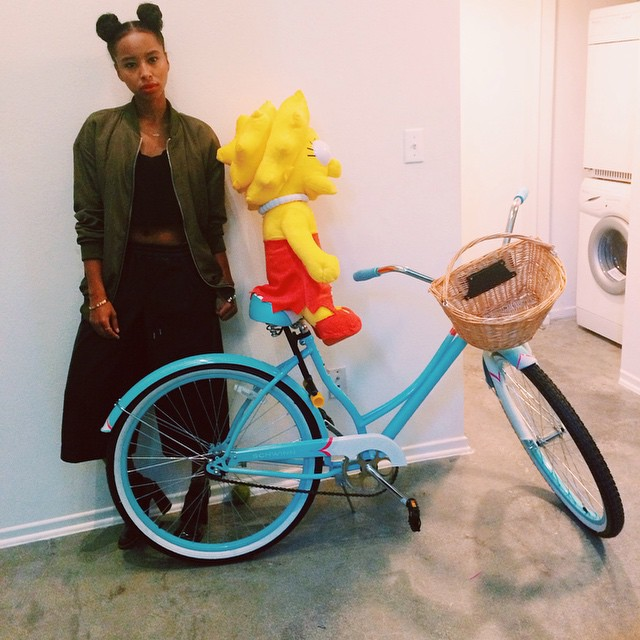 Lisa Simpson stole my bike 😑 #faarrow