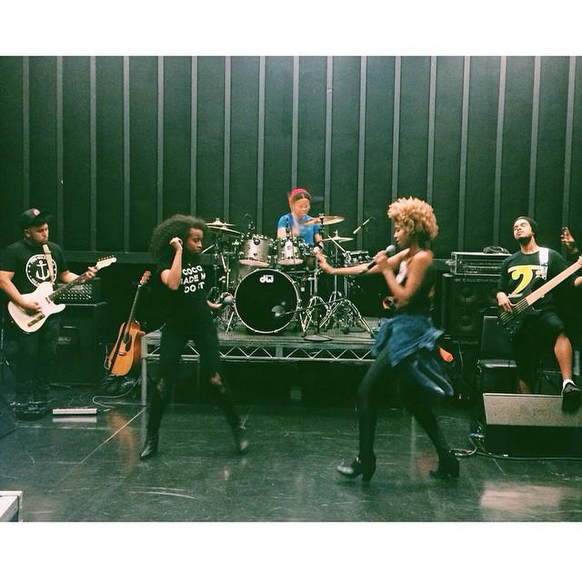 #Rehearsal #faarrow with @thepocketqueen @jussjef @robertbubbylewis @boomkack @oneelijahkelley