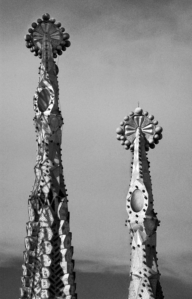 """Spires of Sagrada Familia"", Barcelona, 2005"