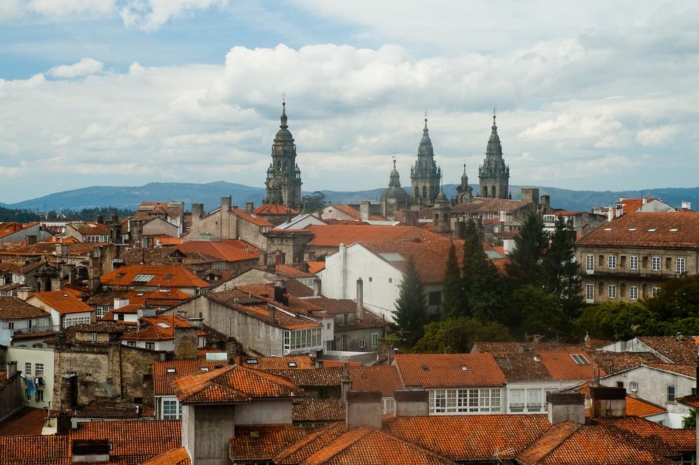 """Santiago Rooftops"", Santiago, Spain, 2005"