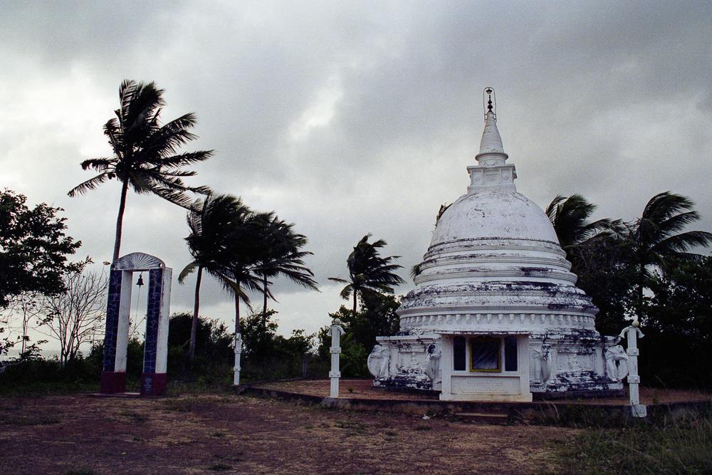 """""""Approaching Storm"""", Unawatuna, Sri Lanka, 1992"""