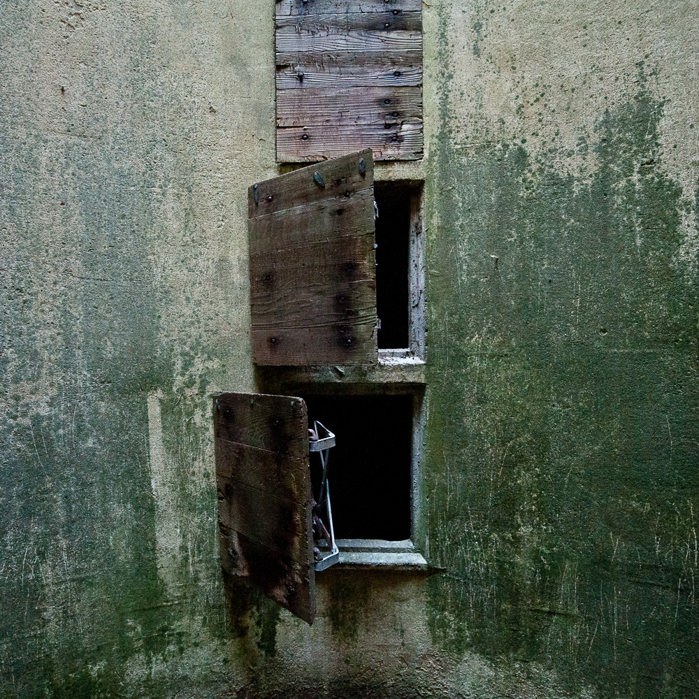 """Strider Farm, Silo Doors"" WVA, 2013"
