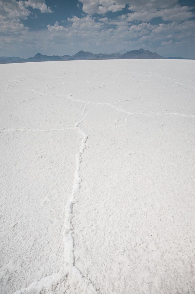 """""""Crust"""", Bonneville Salt Flats, UT, 2014"""