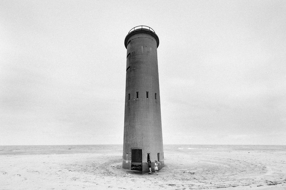 """Tower 6"", Cape Henlopen, DE, 2014"