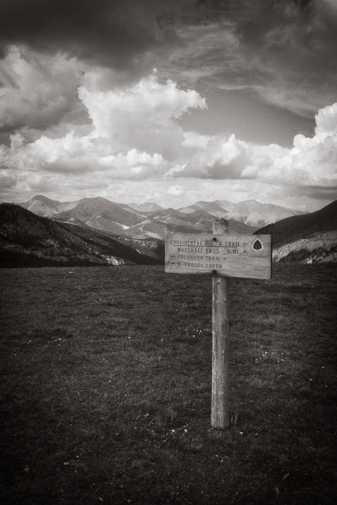The Colorado Trail near Marshall Pass, 2001