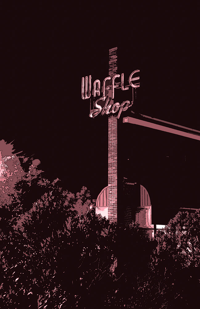 """The Wafle Shop"", Chirilagua, Alexandria, VA, 2008"