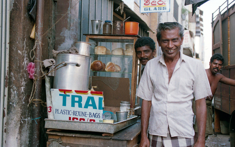 """Tea Wallah"", Pettah, Colombo, Sri Lanka, 1992"