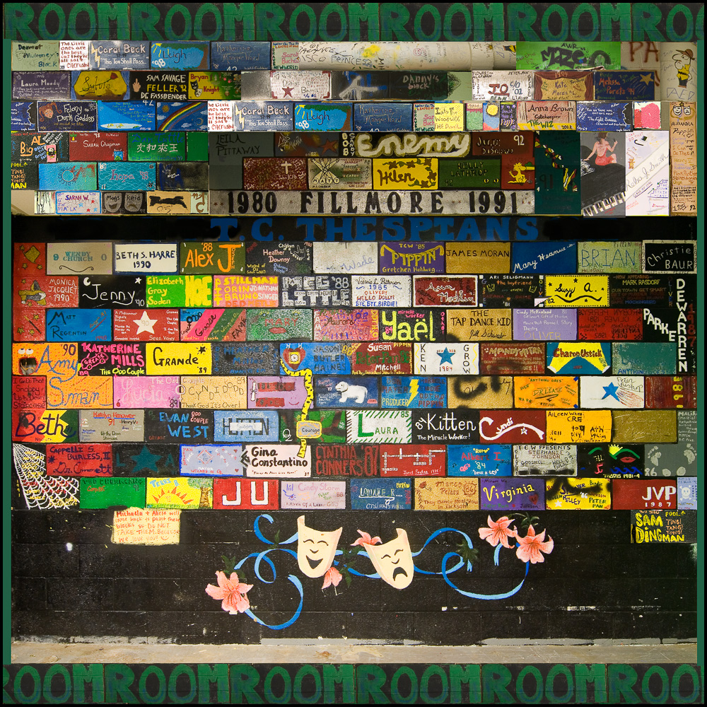 """The Green Room, Collage"", T.C. Williams H.S., 2007"