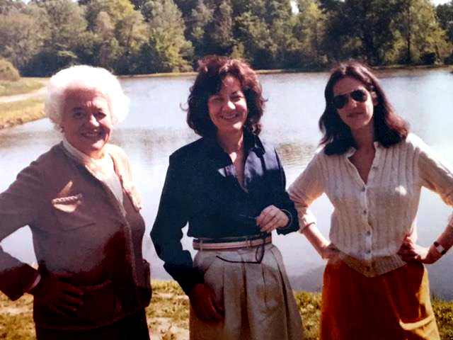 L-R: My grandma, my mom, and me, circa 1981.