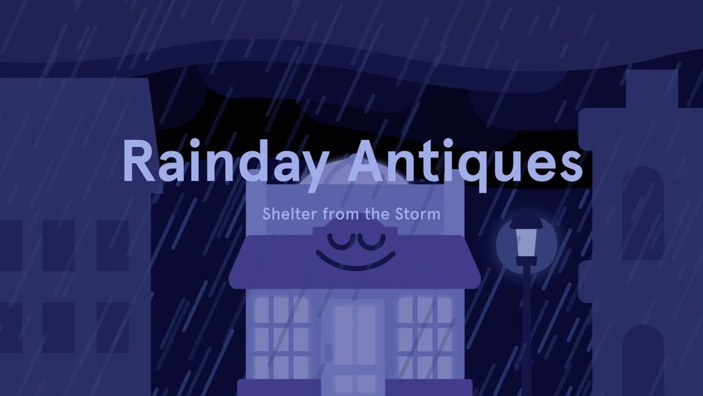"One of Headspace's sleep sleepcasts, ""Rainday Antiques""."