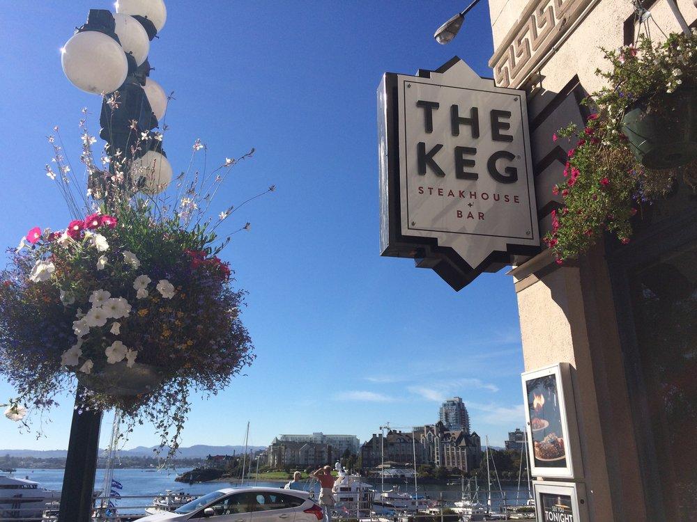 The Keg Downtown, a Wharf Street icon!