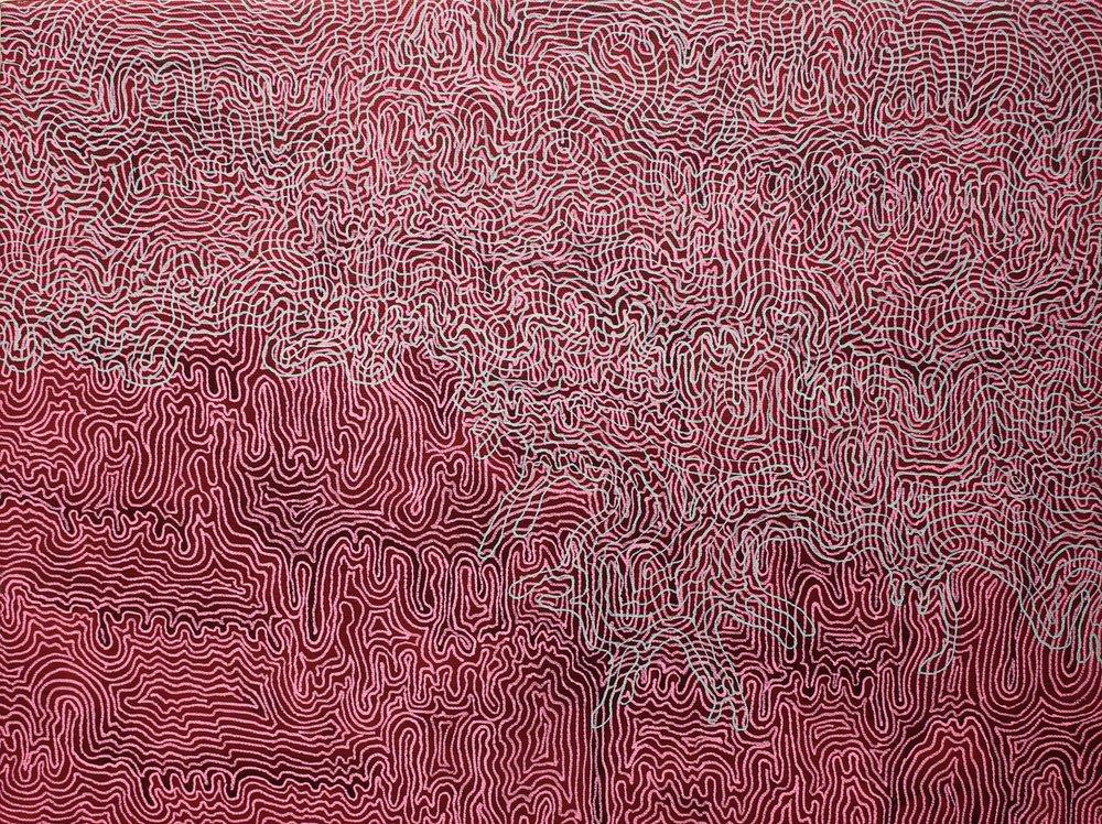 Annette Lines 23, Acrylic Ink auf Leinwand, 30x40, 2015.jpg