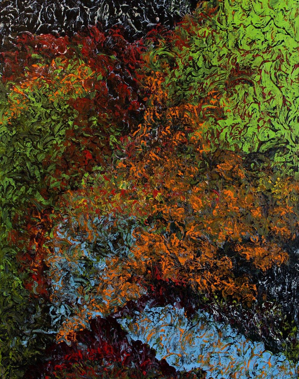 Landscape with Mandarin Trees