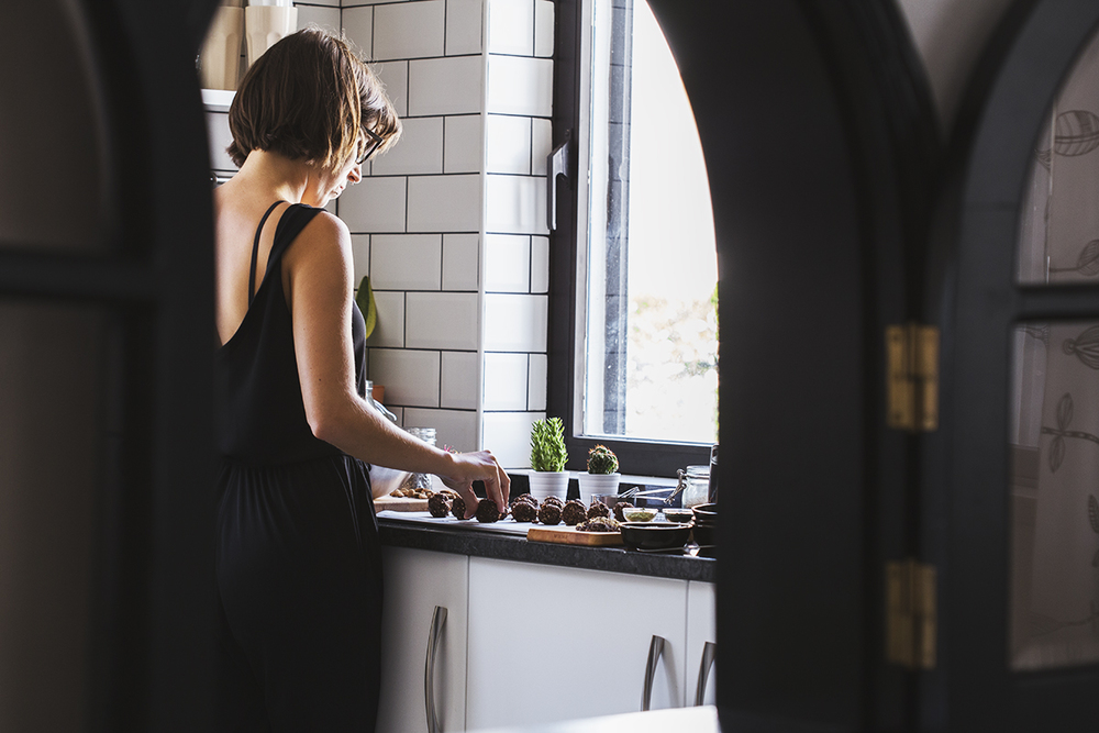 Receita Vegan de Trufas de Cacau & Amêndoa