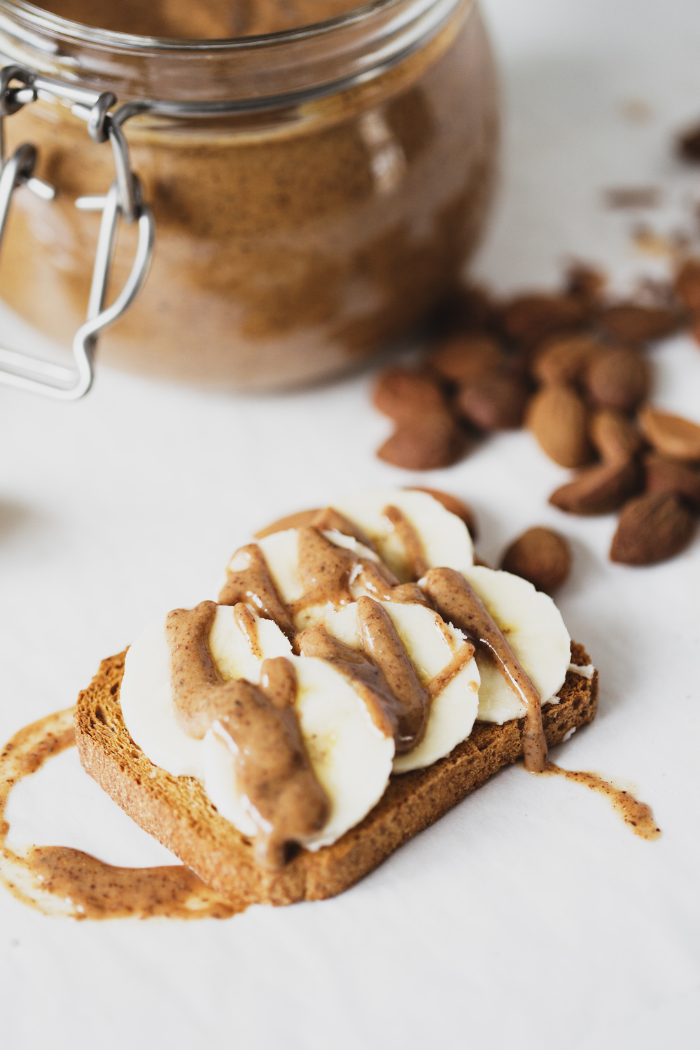 Healthy Vegan Roasted Almond Butter