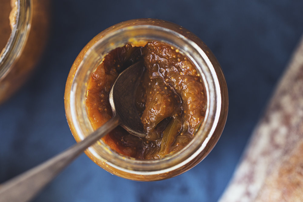 Healthy Homemade Fig & Ginger Jam Recipe