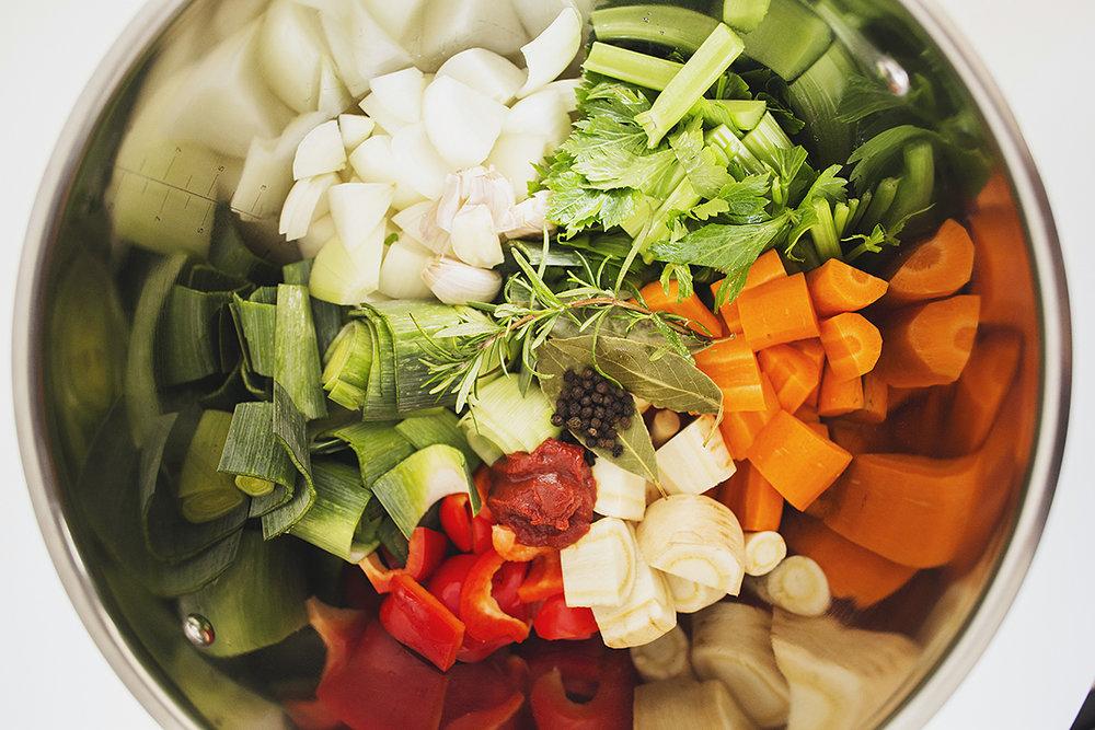 Receita de Caldo de Legumes Caseiro