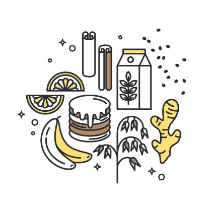 Receita Saudável e Vegan de Panquecas de Banana
