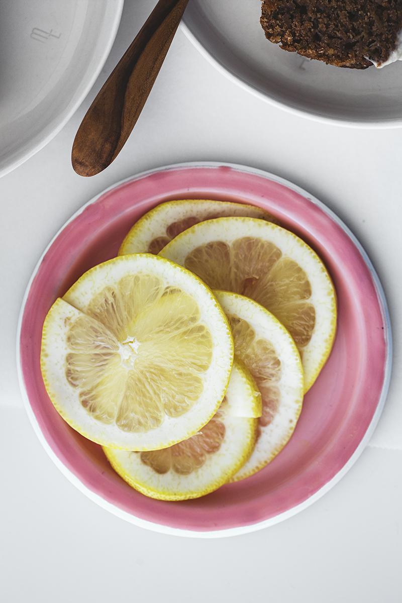 Receita Vegan e Saudável de Bolo de Curgete e Limão