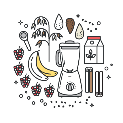 Receita vegan e fácil de um Batido de Amêndoa e Framboesa, super delicioso e funcional. Requer apenas 7 ingredientes simples e 3 superalimentos adaptogénicos que realmente funcionam!