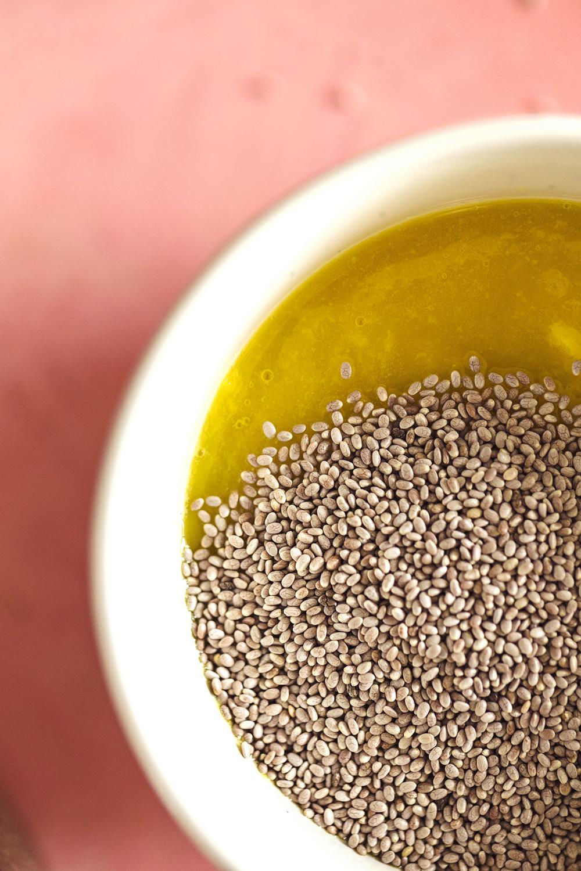 Receita rápida e fácil de Doce de Manga com sementes de chia e sem açúcares adicionados.