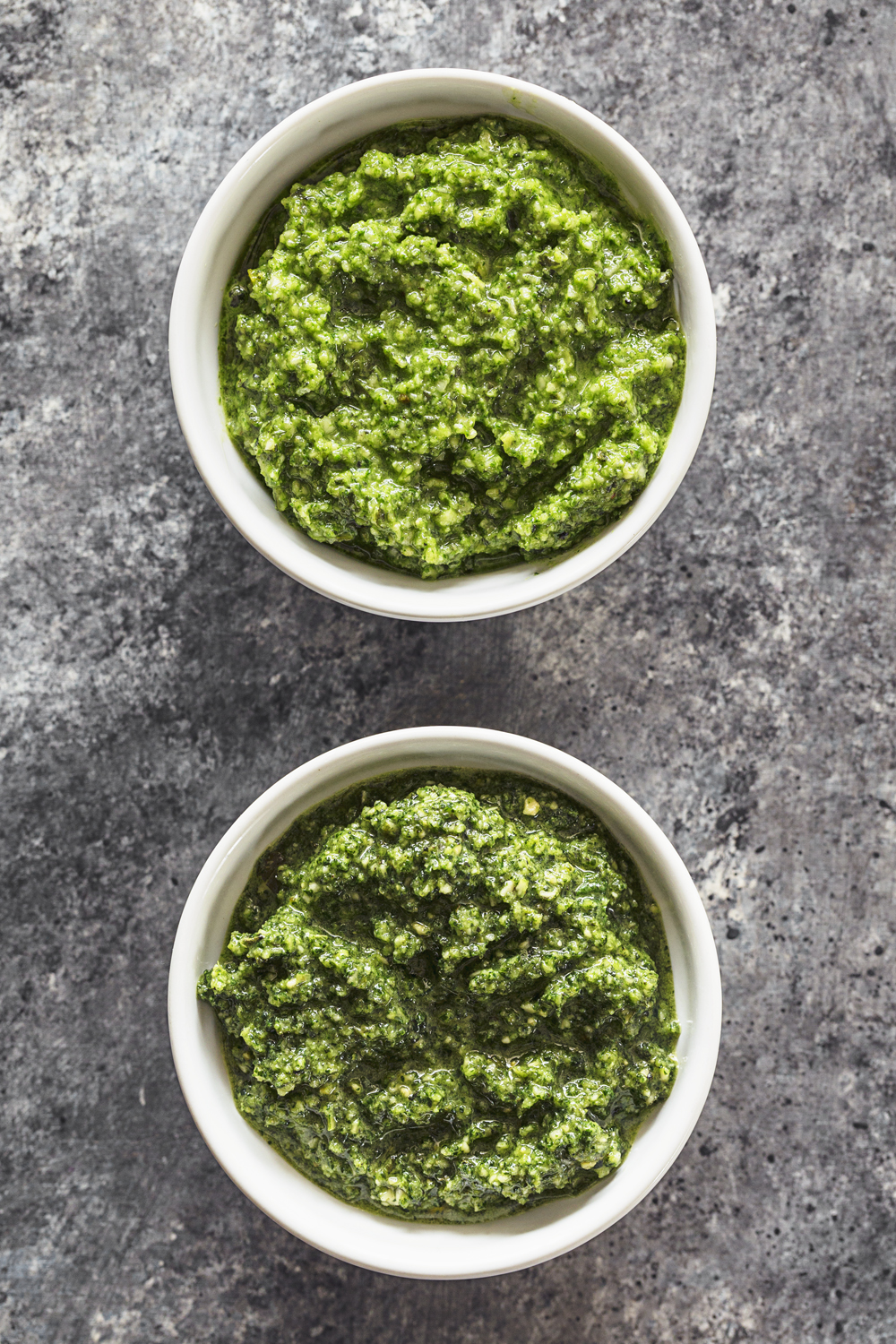 Easy, simple recipe for a Vegan Pumpkin Seed Pesto. Works with any fresh aromatic herb or leafy green and is ready in under 5 minutes!