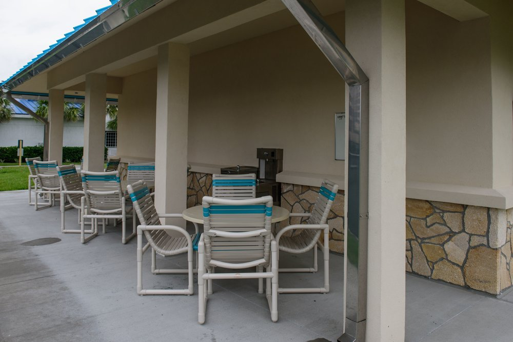 Outdoor Restrooms and Water Fountains