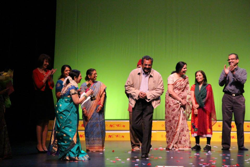 """Members of McLean County's Indian community celebrateduring """"PARAMPARA - The Heritage,""""an Indian classical dance performance last February in Bloomington, featuring artists fromNrityamala Dance Academy."""