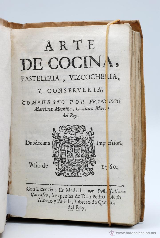A later edition of  Arte de cocina, pastelería, vizcochería y conservería