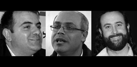 Jiries Mansur, Ghassan Manasra, and Eliyahu McLean of Abrahamic Reunion