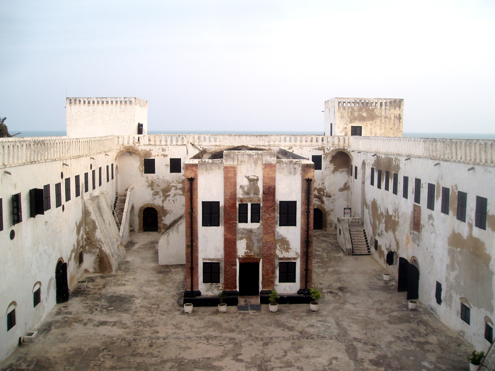 Ghana's Elmina Castle, where Africans languished while awaiting shipment to the Americas.