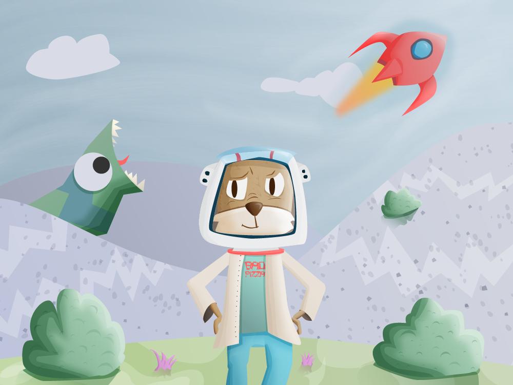 Astronaut Squirrel