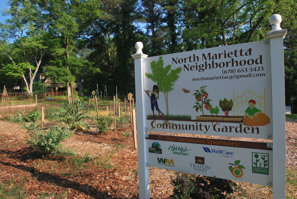 north marietta neighborhood community garden - How To Start A Community Garden