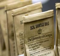 UGA soil testing bags