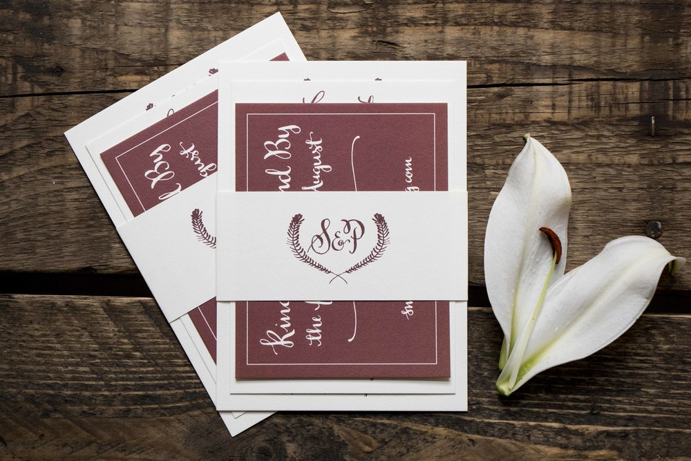 Shannon and Andrew Wedding Stationery and Decor | Sea of Atlas