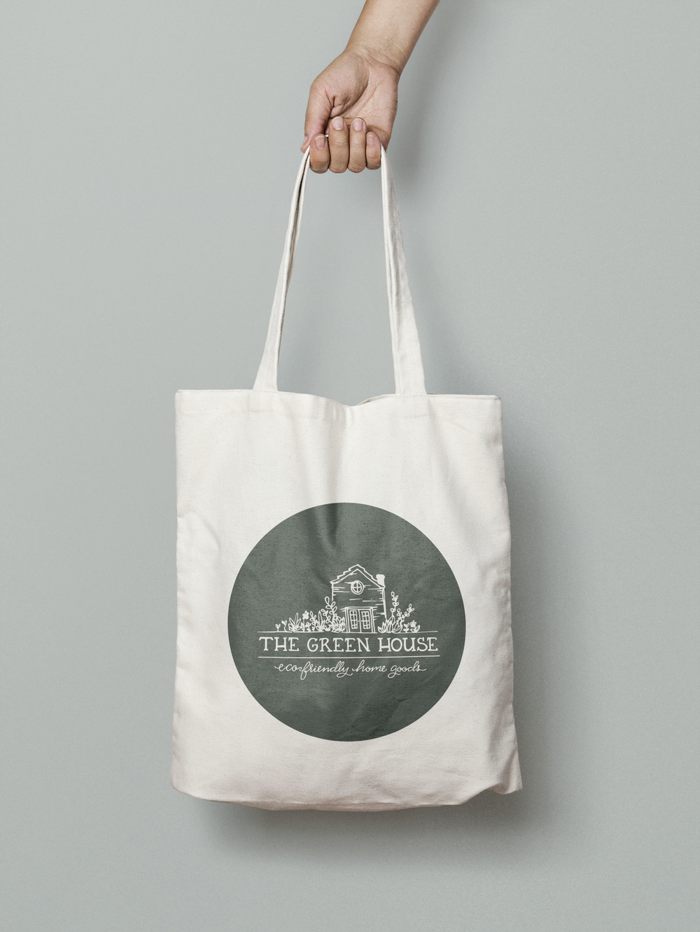 The Green House Branded Tote Bag | Sea of Atlas