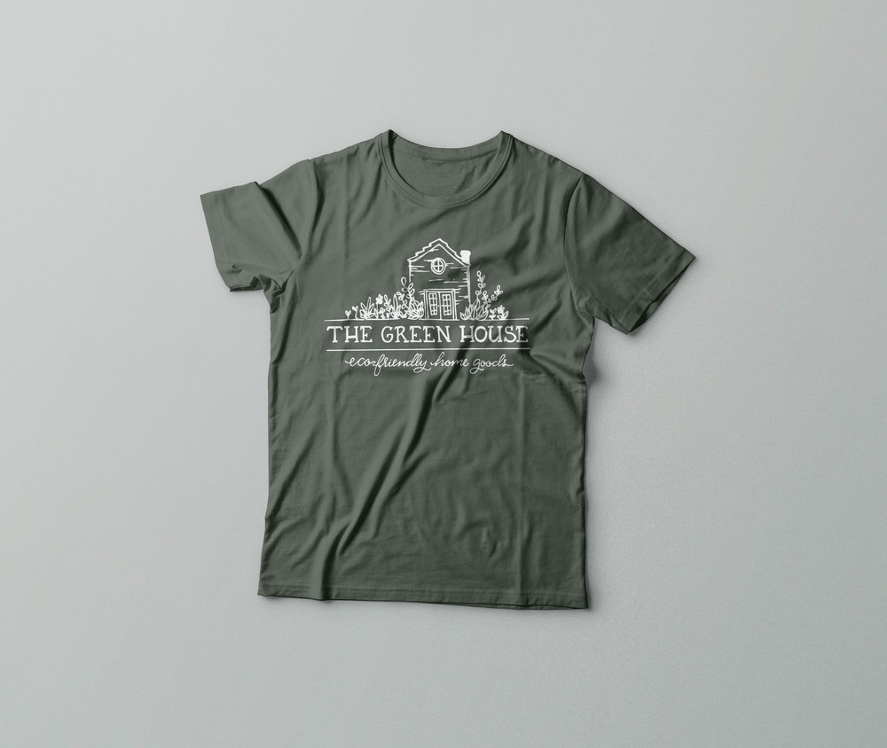 The Green House Branded Store T-Shirts | Sea of Atlas
