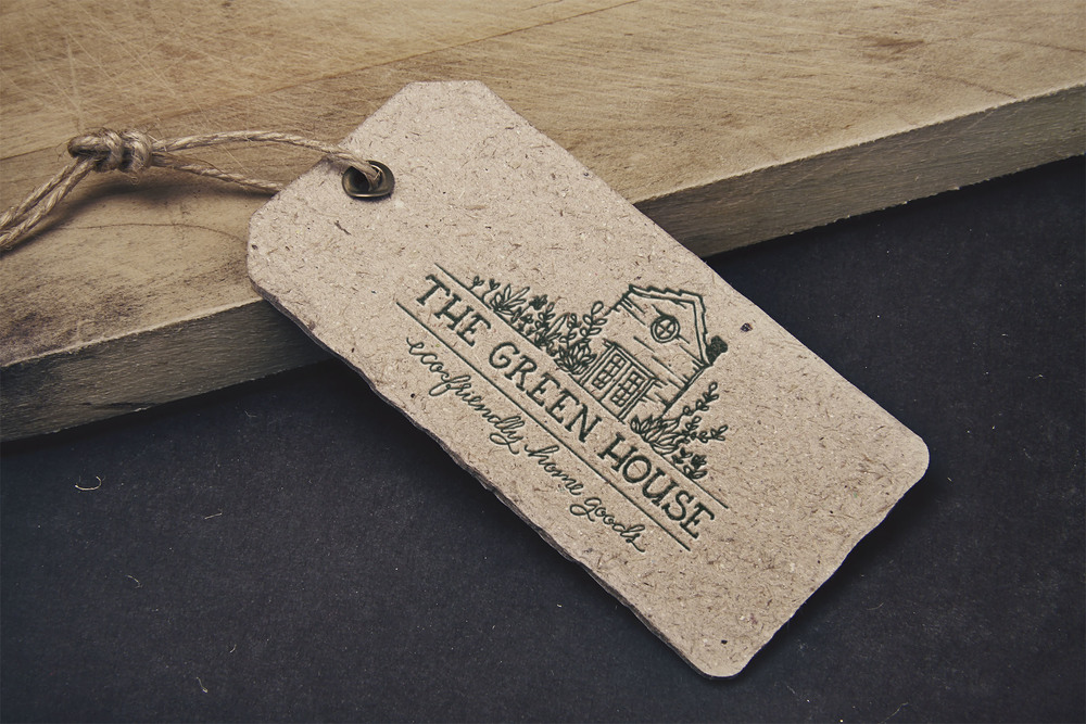 The Green House Merchandise Tag | Sea of Atlas
