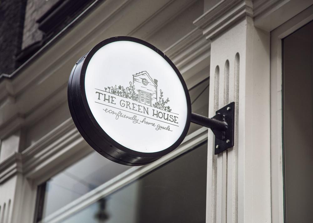 The Green House Store Sign | Sea of Atlas