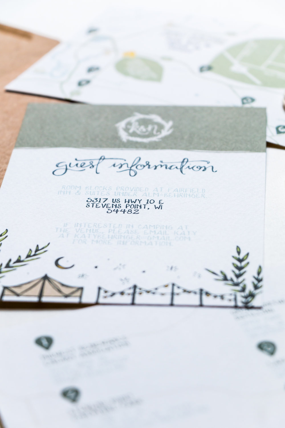 Katy & Nate Wedding Stationery | Britt Fabello