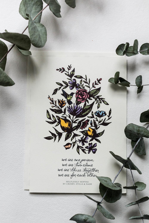 Monika & Paul Wedding Stationery Design | Britt Fabello