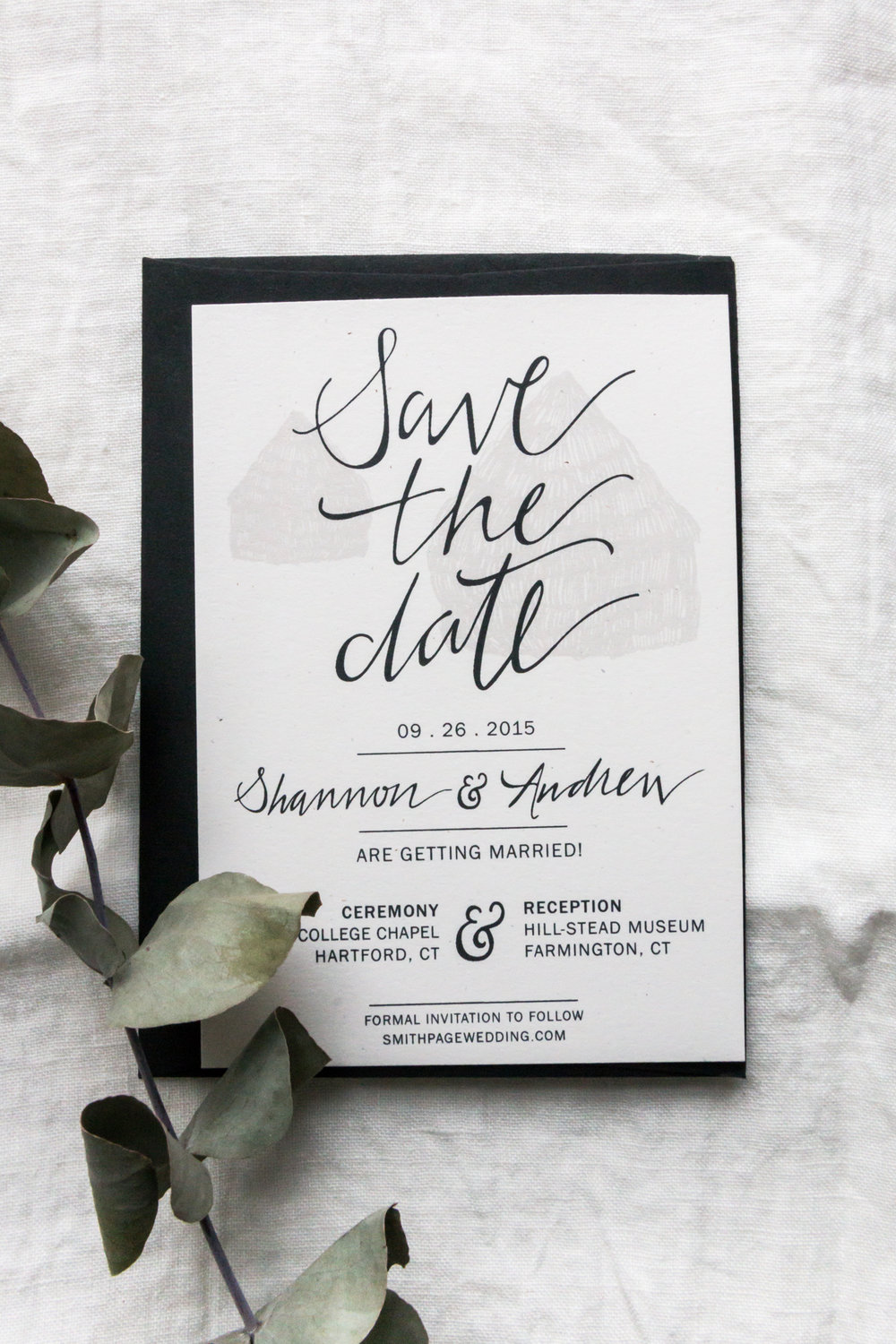 Design: Shannon & Andrew\'s Calligraphy Wedding Stationery Suite ...